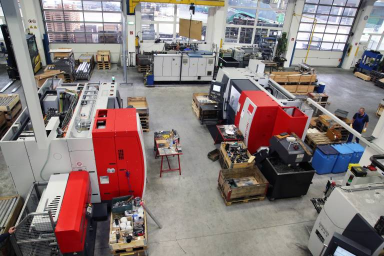 Neben anderen Maschinen hat MTE Metall Technik Elsenhuber mit insgesamt 14 Maschinen über die Jahre einen beachtlichen Emco-Maschinenpark aufgebaut.