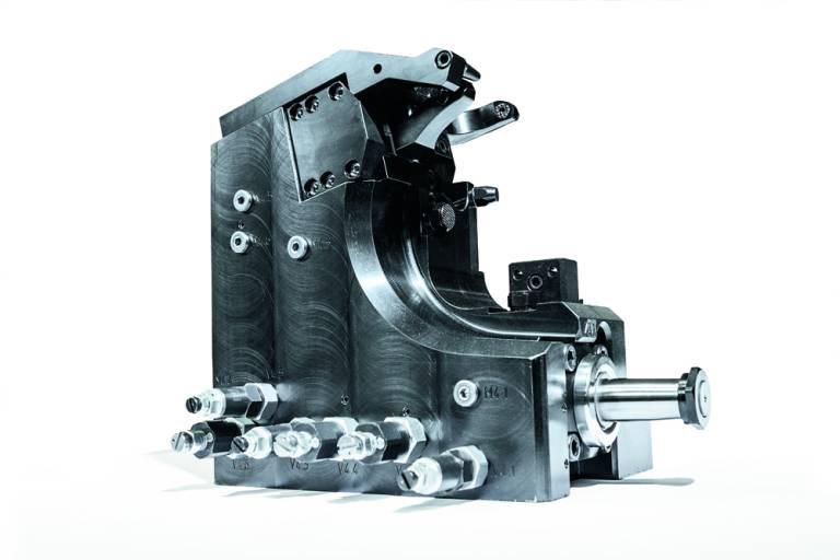 Eine Spannvorrichtung gefertigt von HK Präzisionstechnik.