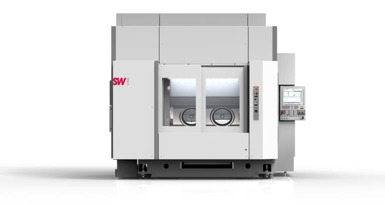 Eine Maschine – viele Technologien: In derselben Zeit, die ein einspindliges Standard-BAZ für ein Teil benötigt, werden auf einer mehrspindligen SW-Maschine bis zu vier Werkstücke gleichzeitig bearbeitet, wodurch sich die Bearbeitungszeit pro Werkstück um rund zwei Drittel reduziert.