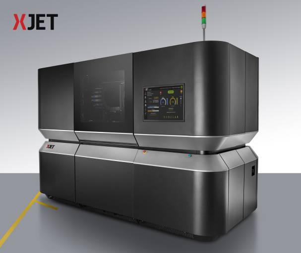 Die NanoParticle Jetting Technologie erfüllt laut XJet viele Anforderungen, womit die Additive Fertigung von Metallteilen bis dato zu kämpfen hatte: Detaillierungsgrad, Baugeschwindigkeit und einfache Handhabung.