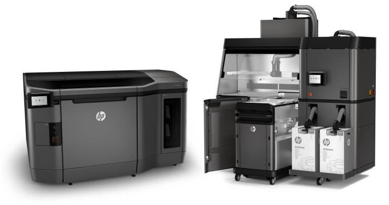 Die speziell für Mustershops und Druckdienstleister konzipierte Drucklösung HP Jet Fusion 3D bietet einen vereinfachten Workflow und reduzierte Kosten für die Prototypenentwicklung.