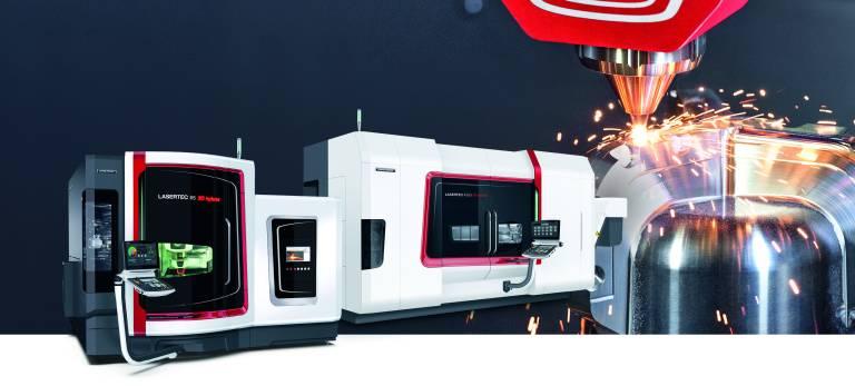 Mit den Baureihen LASERTEC 3D und LASERTEC SLM positioniert sich DMG MORI als Komplettanbieter in der additiven Fertigung von metallischen Bauteilen ergänzend zur Zerspanung.