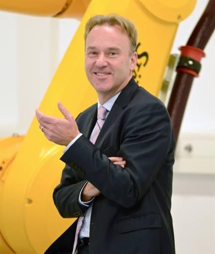 Gerald Vogt verantwortet als Group Division Manager das weltweite Geschäft der Stäubli Gruppe für den Bereich Robotik.