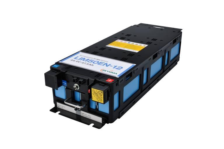 Das Lithium-Ionen Modul LIM50EN von GS Yuasa verfügt über eine hohe Energiedichte und Leistungsfähigkeit.