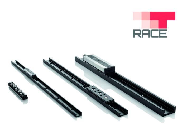 Mit der Übernahme von T-Race verstärkt sich Rollon im Bereich der Linear- und Teleskopkomponenten mit Komplementärprodukten, wie beispielsweise den Linearführungen des Typs MonoRace.