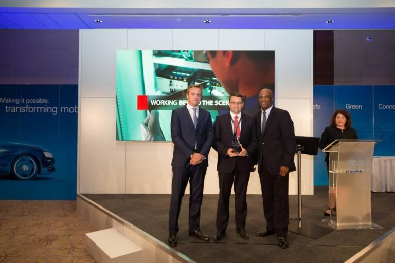 Rockwell Automation wurde für seine industriellen Asset-Management-Services mit dem Delphi Supplier Award ausgezeichnet. Die Preisverleihung fand im Mai 2017 in Krakau, Polen, statt.