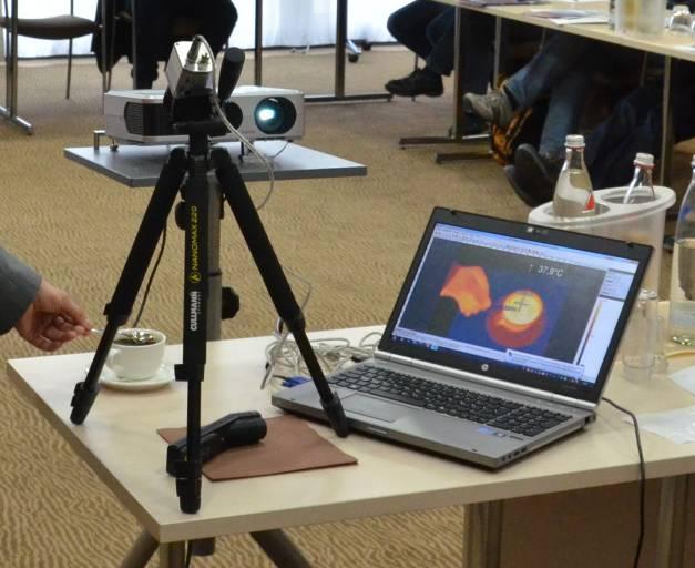 Optris Infrarot Tour 2017 – Wärmebildkameras, Infrarotthermometer und deren richtige Anwendung.