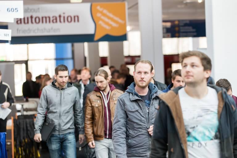 all about automation in Friedrichshafen: zwei erfolgreiche Messetage mit Besucher- und Ausstellerplus.