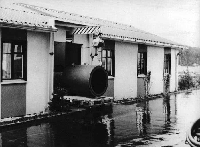 Endress+Hauser hat die ersten Durchflussmessgeräte in einer Militärbaracke (1977) gefertigt.