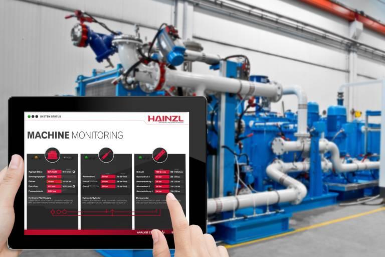 Neu: Fluidmonitoring für Aggregate und Anlagen von Hainzl.