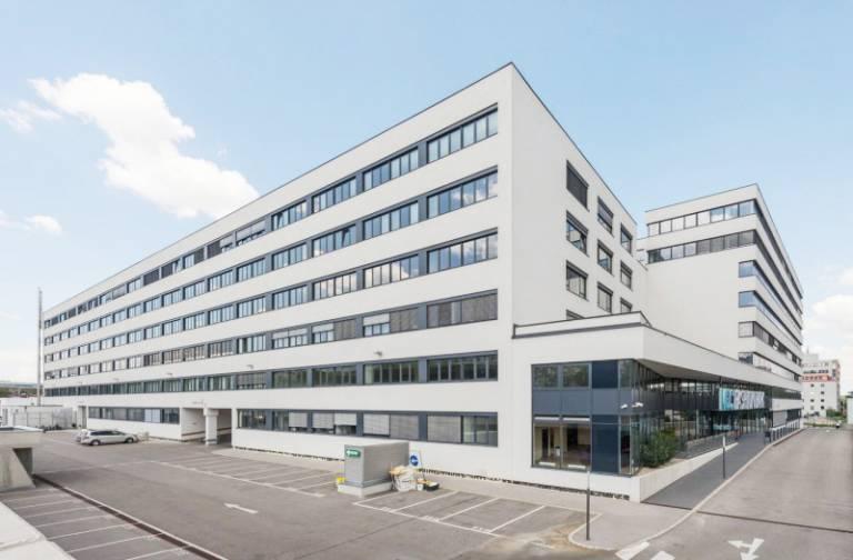 Die neue Niederlassung von Faulhaber in der Modecenterstraße 22, in 1030 Wien.