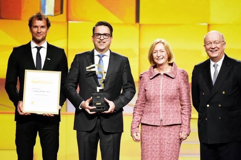 Die Schunk GmbH & Co. KG aus Lauffen  gewinnt den HERMES AWARD 2017.