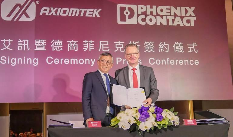 Phoenix Contact übernimmt das taiwanesische Unternehmen Etherwan.