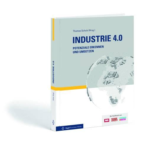 """Fachbuch """"Industrie 4.0. Potenziale erkennen und umsetzen""""."""