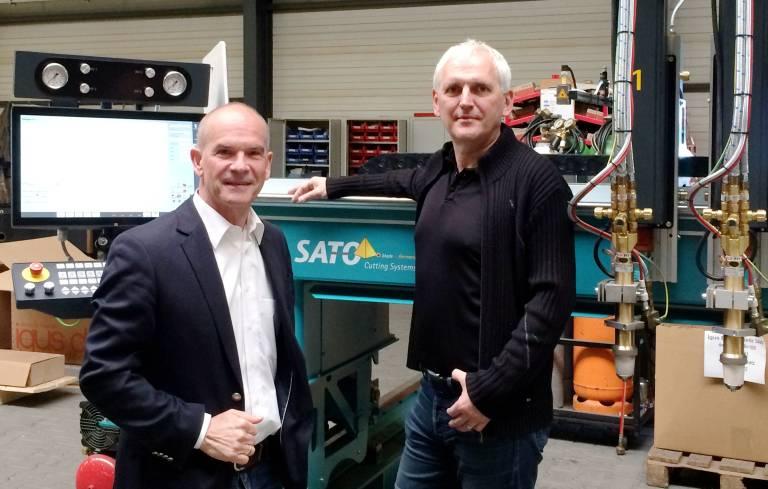 Holger Kerkow und Frank Heesen haben zum 1. Mai 2017 die Sato-Unternehmensgruppe übernommen.