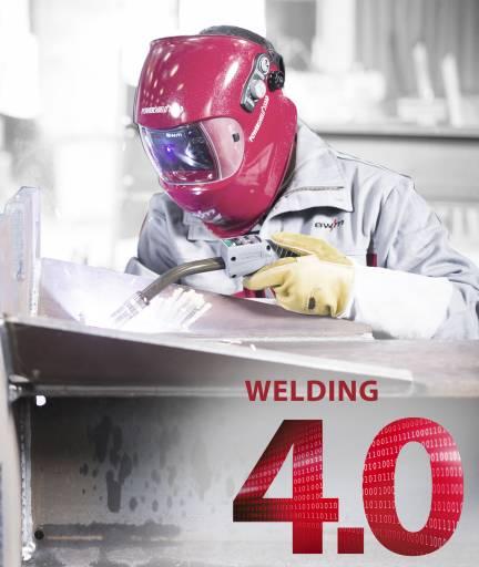 """Unter dem Motto """"Welding 4.0"""" präsentiert EWM die neueste MIG/MAG-Schweißgeräte-Generation."""