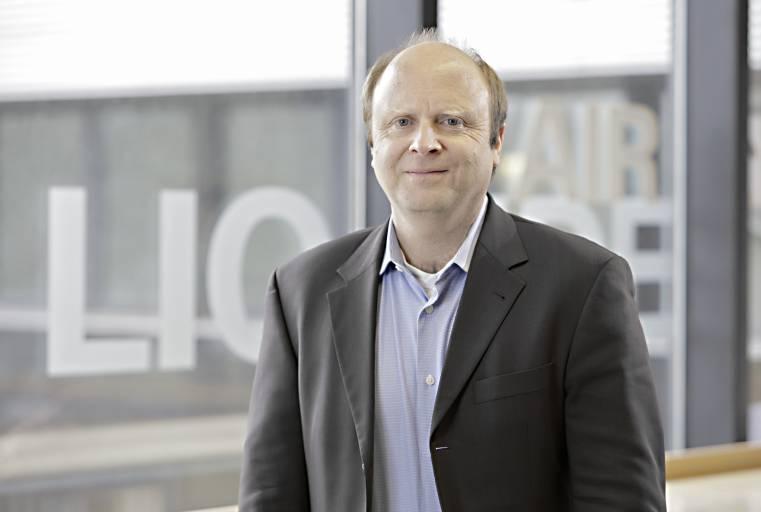 Norbert Semsch, Experte im Bereich Schweißen und Schneiden bei Air Liquide in Düsseldorf.
