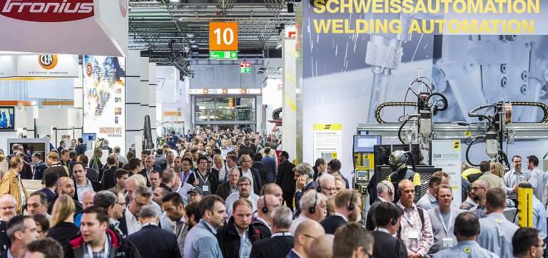 Rund 50.000 Besucher aus mehr als 120 Ländern kamen auf die 19. SCHWEISSEN & SCHNEIDEN nach Düsseldorf.