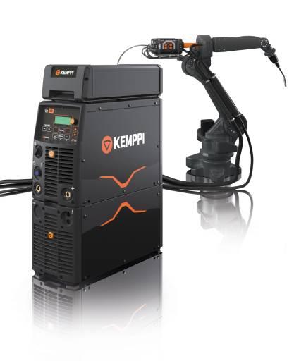 Der A7 MIG Welder von Kemppi kombiniert besondere MIG/MAG-Schweißgeräte, Anwendungssoftware und Schweißprogramme in einem System, das mit sämtlichen Schweißrobotern kompatibel und schnell und einfach einzusetzen ist.