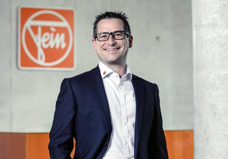 Michael Gishamer ist neuer Fein-Vertriebsbereichsleiter für die DACH-Region.