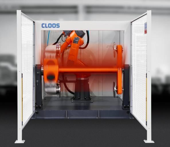 Mit den kompakten Roboterzellen lassen sich kleine Bauteile effizient automatisiert schweißen.