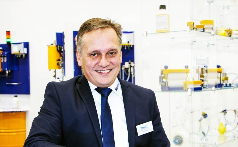 DI Andreas Huber ist neuer Vertriebsleiter der Raziol Zibulla & Sohn GmbH für Österreich.