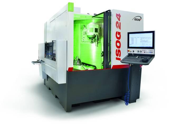 Die ISOG 24 ist die neueste Entwicklung im CNC-Werkzeugschleifen von ISOG. Mit pfiffigen Details setzt sie Standards für die Produktion.