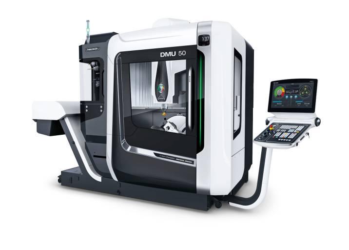 Mit einer hochwertigen Ausstattung überzeugt die neue DMU 50 der 3.Generation preisbewusste Anwender in verschiedensten Branchen.