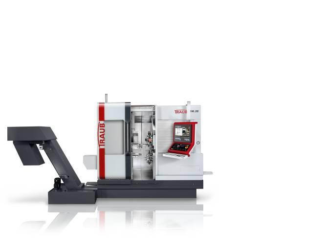 Die neue TNL20: produktives Lang- und Kurzdrehen für Werkstücke mittlerer und hoher Komplexität von der Stange oder mit integrierter Roboterzelle.