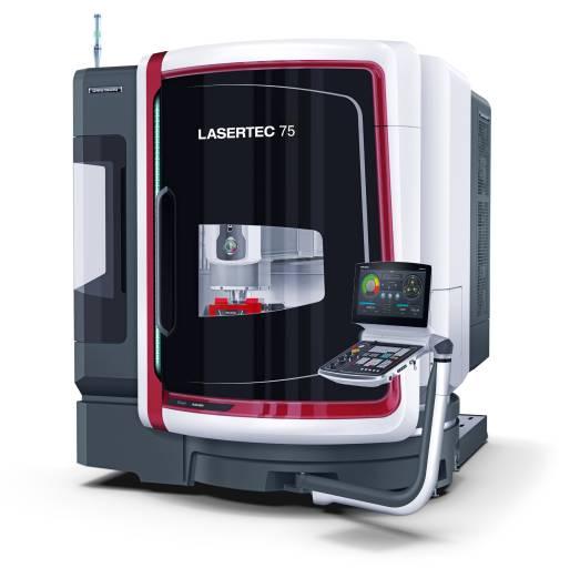 Mit einer Stellfläche von lediglich 8 m² ist die LASERTEC 75 Shape ein idealer Begleiter auch in engsten Produktionsumgebungen.