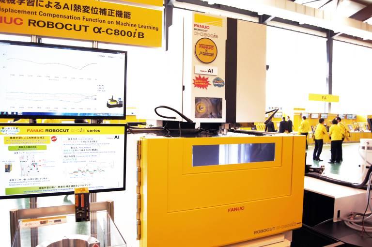 Fanuc hat sein Angebot an Drahterodiermaschinen mit der α-C800iB/Z500 nach oben hin erweitert. Mit einer Erodierhöhe von 510 mm können nun nahezu 2,5-mal so große Werkstücke als zuvor bearbeitet werden.