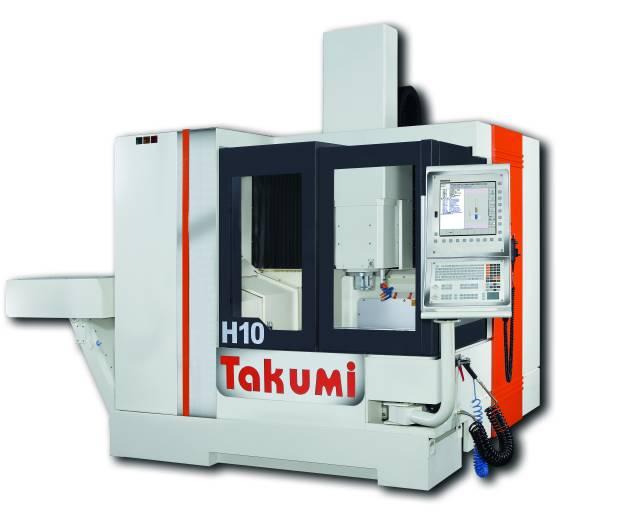 Die Takumi H10 gehört zu den Portalmaschinen mit den kürzesten Verfahrwegen der H-Serie und konzentriert sich auf Hochgeschwindigkeitsanwendungen. Die stabile Portalkonstruktion mit ihrer hohen Temperaturbeständigkeit ist Grundlage für die Leistungsfähigkeit der Maschinen.