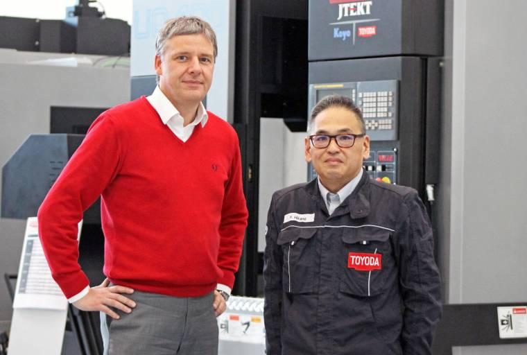 Im Interview erklären die beiden Geschäftsführer Michael Steiner und Yukinaga Hirano ihre Ziele für Toyoda Machinery Europe.