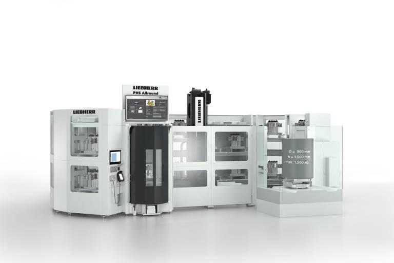 PHS-Allround ermöglicht einem großen Anwenderkreis den Einstieg in die Welt der flexiblen Fertigung in Kombination mit 4- und 5-Achs-Bearbeitungszentren.