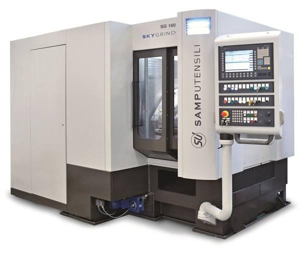 Beim Schleifprozess auf der SG 160 SKYGRIND ist während der Hartfeinbearbeitung der Verzahnung nach der Härtung kein Kühlöl mehr erforderlich.