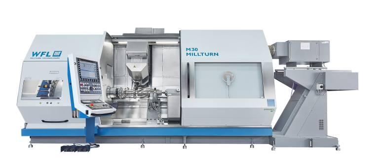 Weltpremiere feiert die neue M30 MILLTURN auf der EMO in Hannover. Die Maschine meistert die Komplettbearbeitung kleiner Werkstücke zu einem sehr attraktiven Preis-Leistungs-Verhältnis.