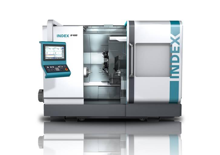 Die neuentwickelte CNC-Universaldrehmaschine Index B400 wird erstmals auf der EMO vorgestellt.