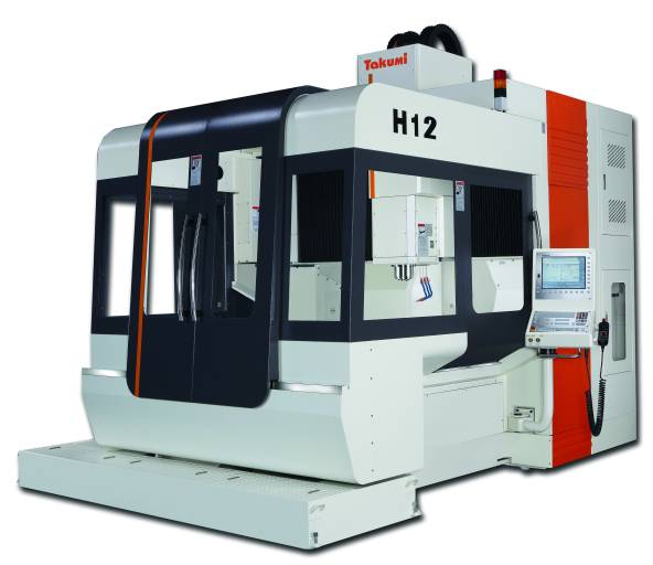 Für Hochgeschwindigkeitsanwendungen in Werkzeug- und Formenbau sowie Luft- und Raumfahrt: Auf der EMO zeigt Hurco das universell einsetzbare Takumi-Model H12. (Bilder: Hurco)