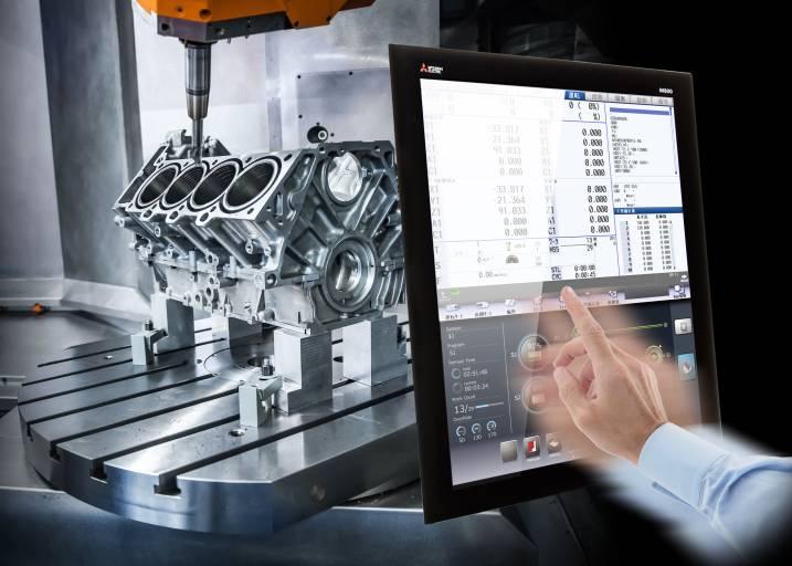 Mitsubishi Electric reagiert auf den Bedarf an schneller, präziser und wirtschaftlicher Steuerung von Werkzeugmaschinen mit der neuen M800/M80 CNC-Serie.