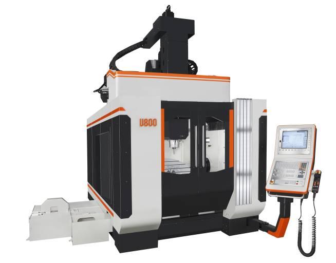Takumi U800: 5-Achs-Bearbeitung für große und schwere Werkstücke.