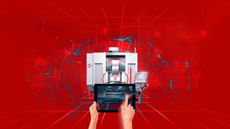 Drei Schritte in Richtung Industrie 4.0 –  mit Digital Production, Digital Operation und Digital Service bietet Hermle ein umfassendes Paket an digitalen Bausteinen.