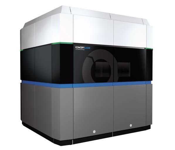 GE Additive enthüllt die erste BETA-Maschine aus seinem Projekt A.T.L.A.S. (Bild: GE Additive)
