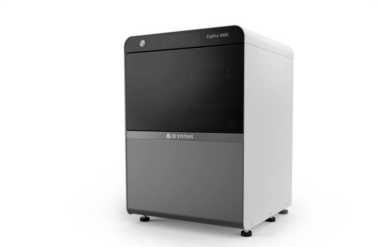 Der FabPro 1000 von 3D Systems ist ein kostengünstiger Digital Light Processing (DLP) 3D-Drucker, der Teile mit glatter SLA-Oberflächenqualität liefert. (Bilder: 3D Systems)