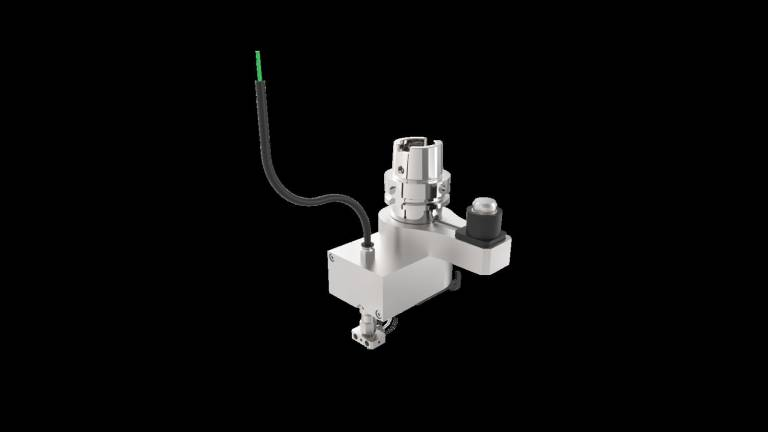 Der HSK – Spezialdruckkopf (HSK steht für Hohlschaftkegel) kann auf gängigen CNC-Maschinen nachgerüstet werden und macht somit jedes Bearbeitungszentrum zur AM-Maschine.