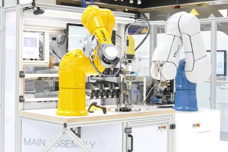 Am 21. und 22. November triftt sich die Robotikbranche in Wels.