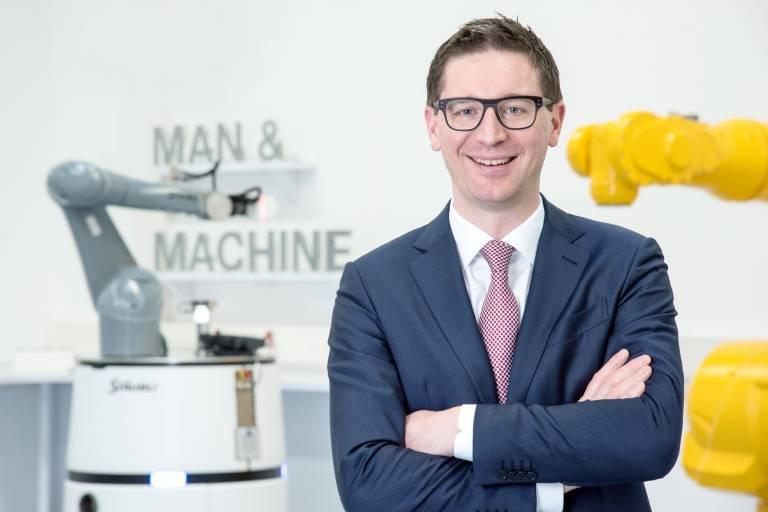 Peter Pühringer, Division Manager Robotics bei Stäubli Robotics