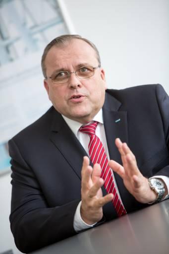 Helmut Maier, Geschäftsführer von Sick.