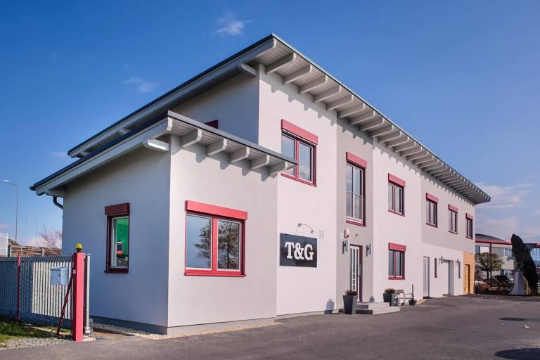 Mit dem Ausbau des Bürogebäudes von T&G, wurde der Grundstein für ein zukünftiges und konstantes Wachstum gelegt.
