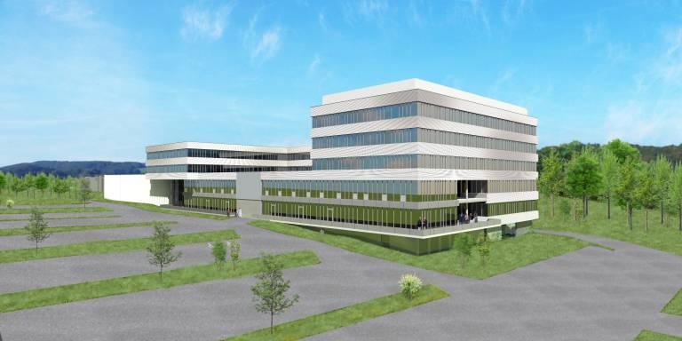 Am Stammsitz der B&R im oberösterreichischen Eggelsberg wird ein hochmoderner Innovations- und Bildungscampus errichtet.