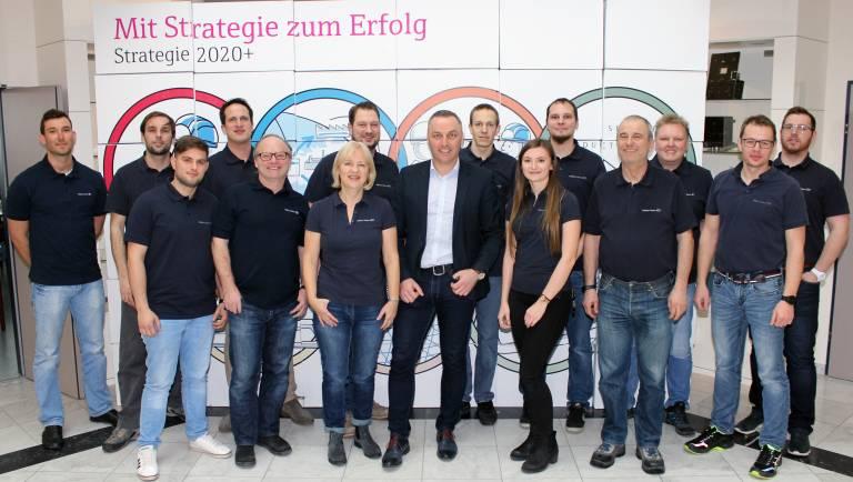 Das Endress+Hauser Service-Team von Österreich.